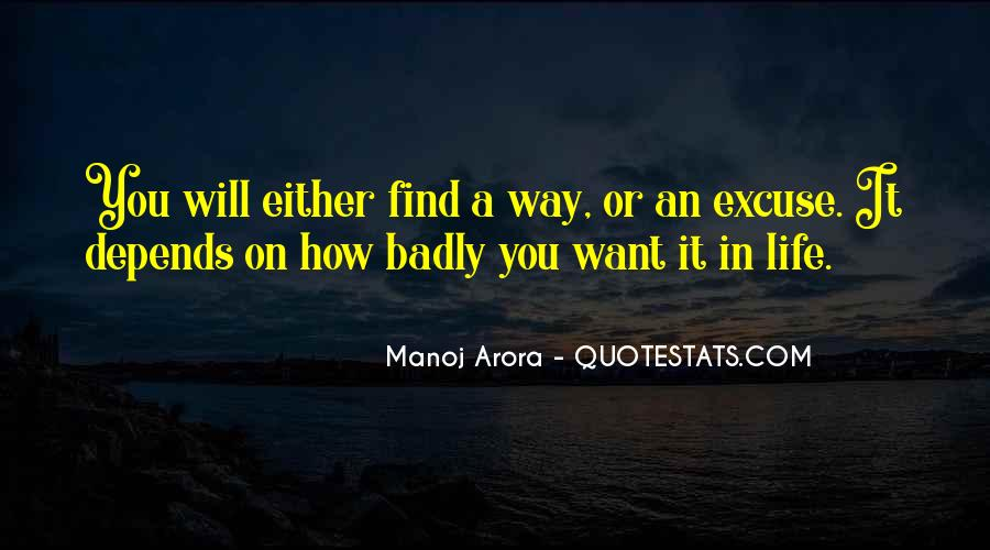 Manoj Arora Quotes #1878552