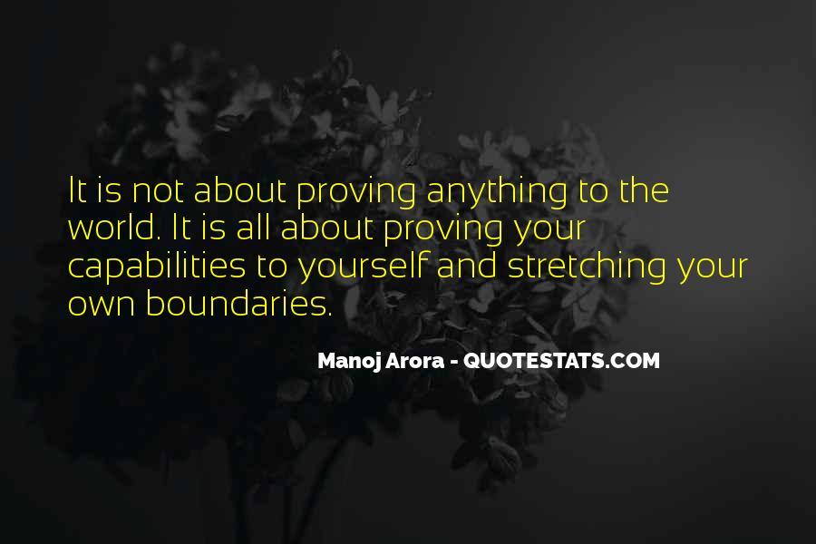 Manoj Arora Quotes #193508