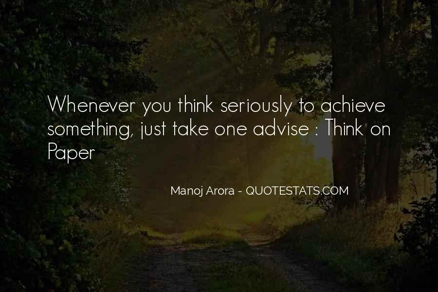 Manoj Arora Quotes #796667