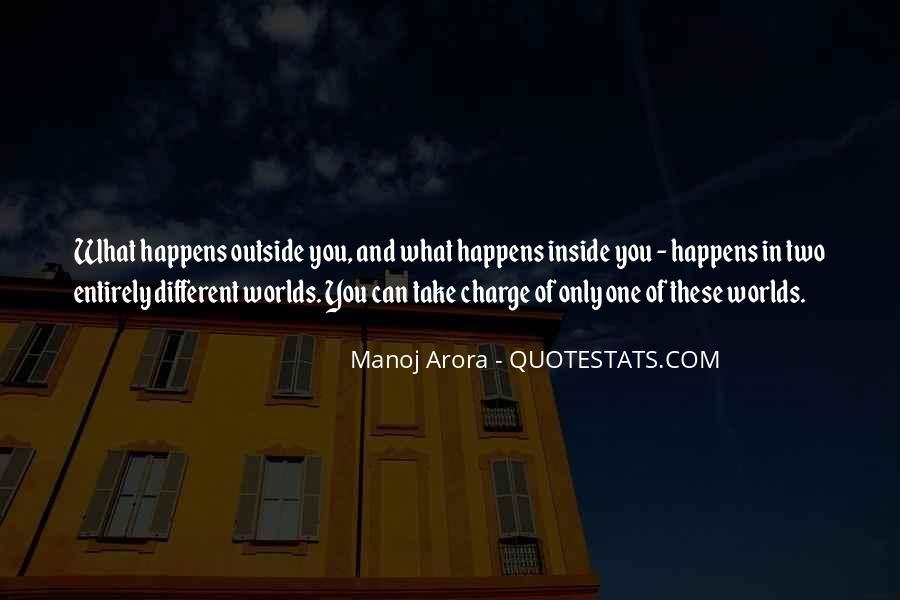 Manoj Arora Quotes #852243