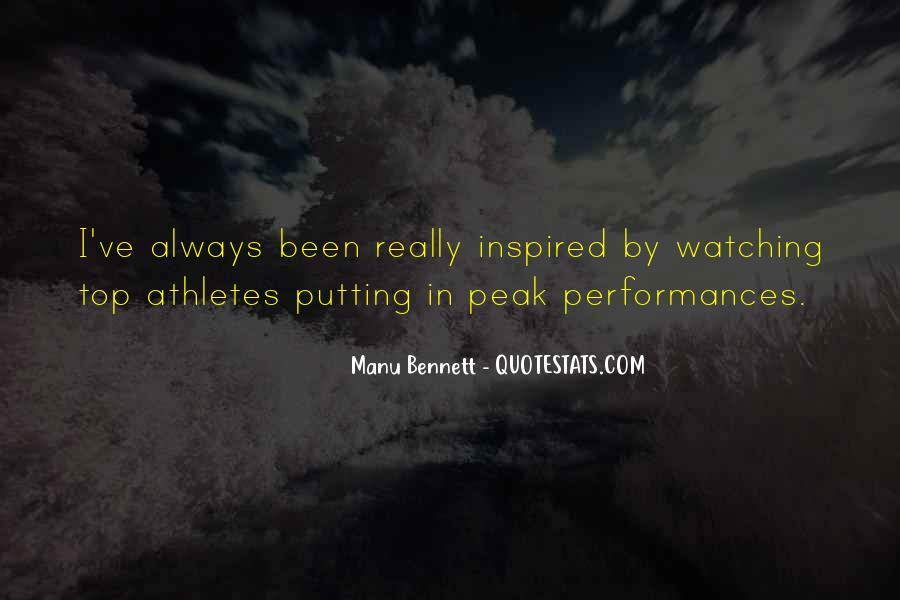 Manu Bennett Quotes #1304259