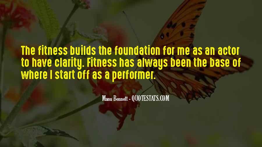 Manu Bennett Quotes #1323609