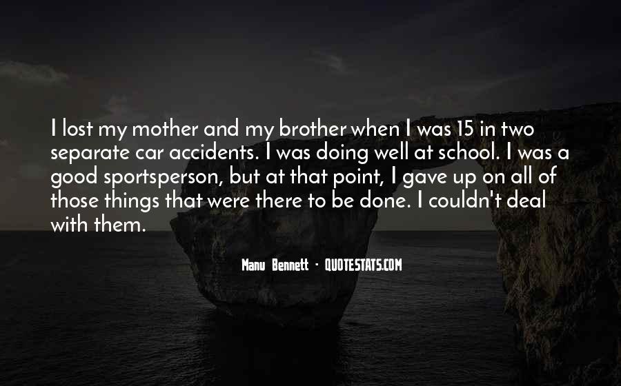 Manu Bennett Quotes #1834