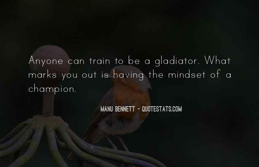 Manu Bennett Quotes #198604