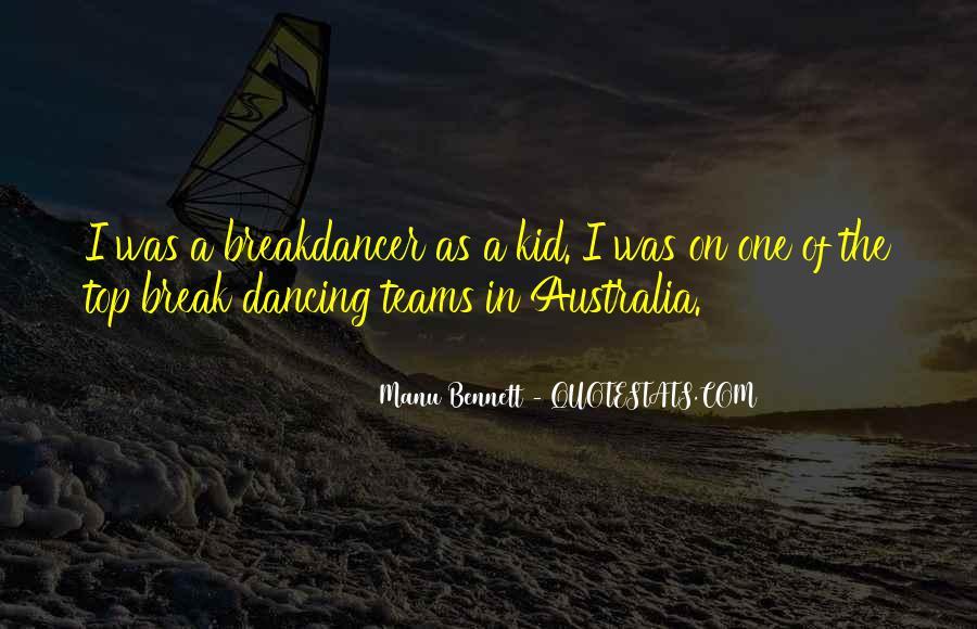 Manu Bennett Quotes #337295