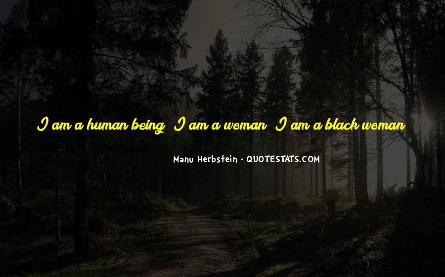 Manu Herbstein Quotes #213535