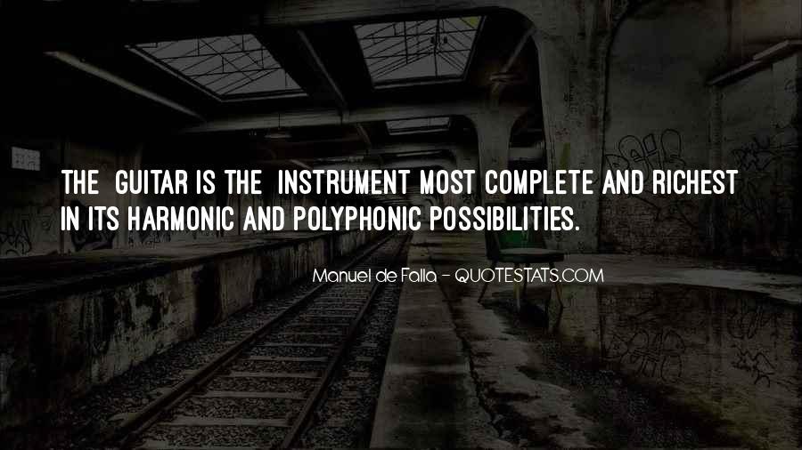 Manuel De Falla Quotes #211926