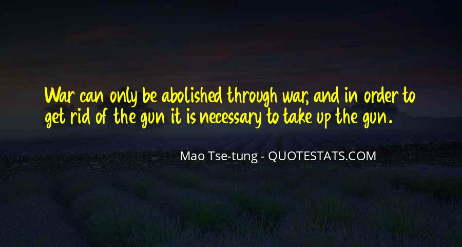 Mao Tse-tung Quotes #166519