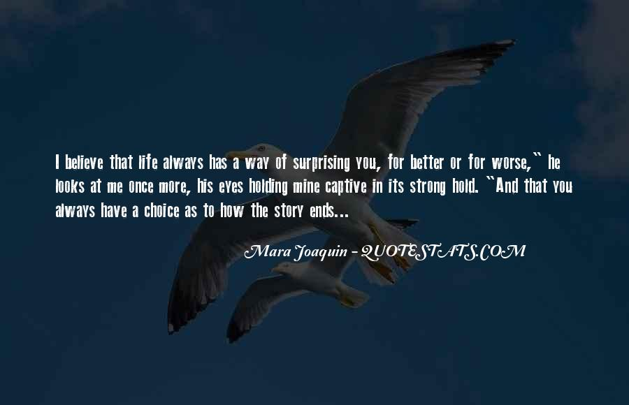 Mara Joaquin Quotes #509682