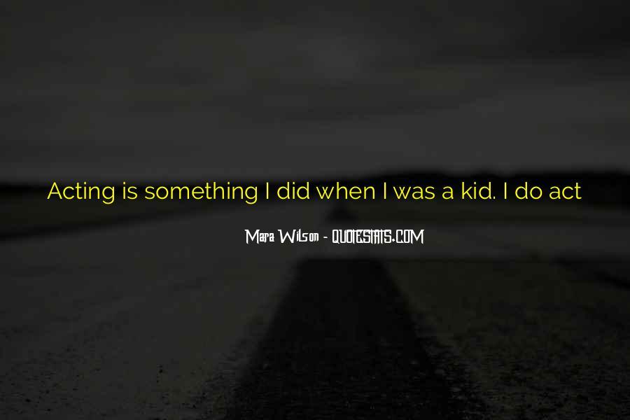 Mara Wilson Quotes #1719216