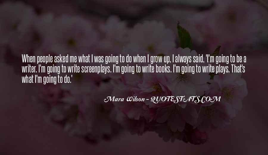 Mara Wilson Quotes #24533