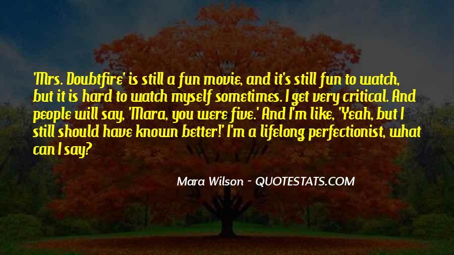 Mara Wilson Quotes #675818