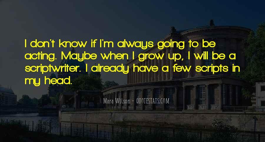 Mara Wilson Quotes #757308