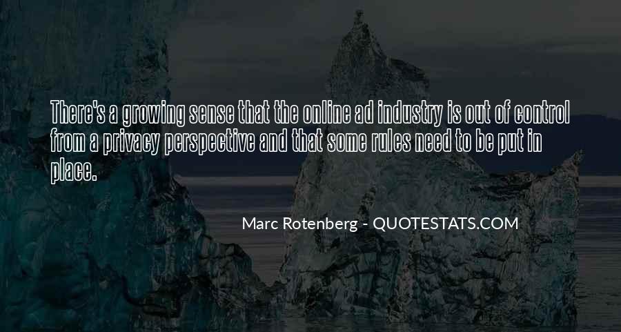 Marc Rotenberg Quotes #1030006