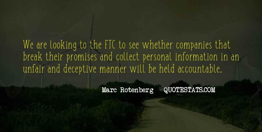 Marc Rotenberg Quotes #907811