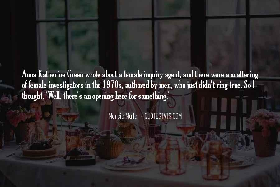 Marcia Muller Quotes #1099777