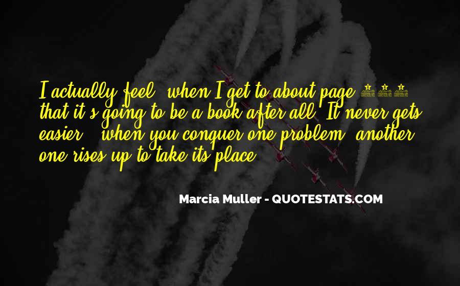 Marcia Muller Quotes #1805832