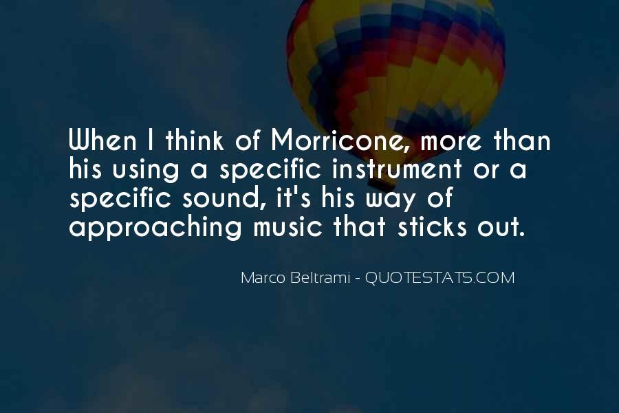 Marco Beltrami Quotes #1030869
