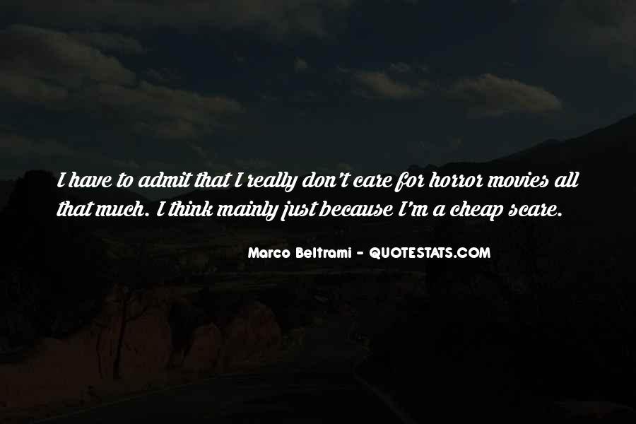 Marco Beltrami Quotes #1100305
