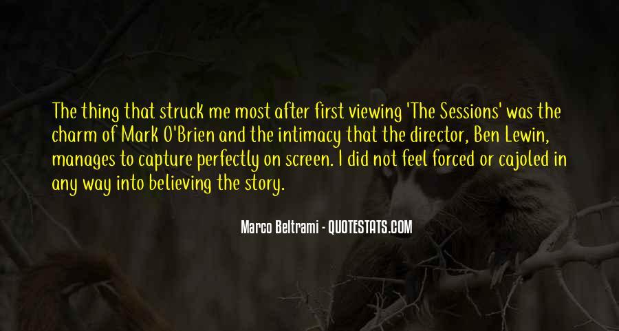 Marco Beltrami Quotes #1207108