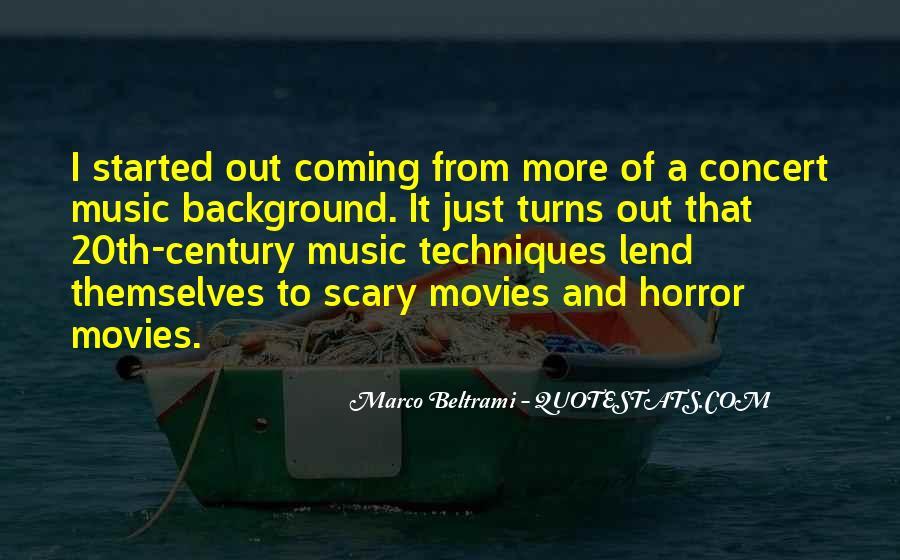 Marco Beltrami Quotes #1311770