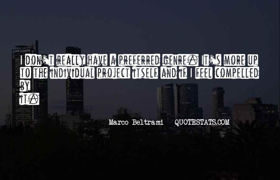 Marco Beltrami Quotes #1754687