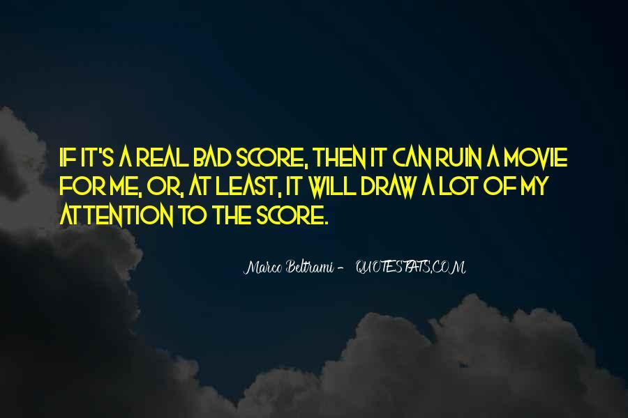 Marco Beltrami Quotes #1795774
