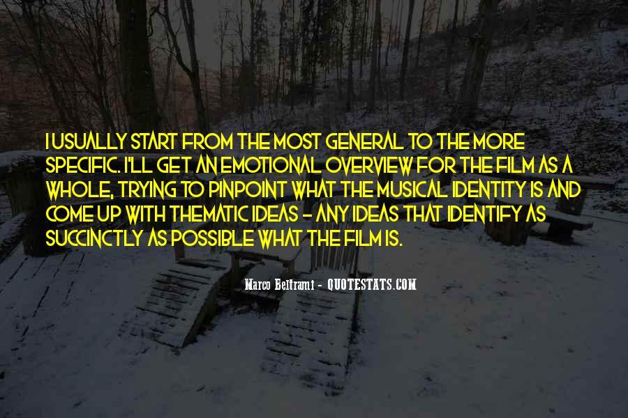 Marco Beltrami Quotes #397874