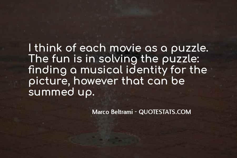 Marco Beltrami Quotes #76191