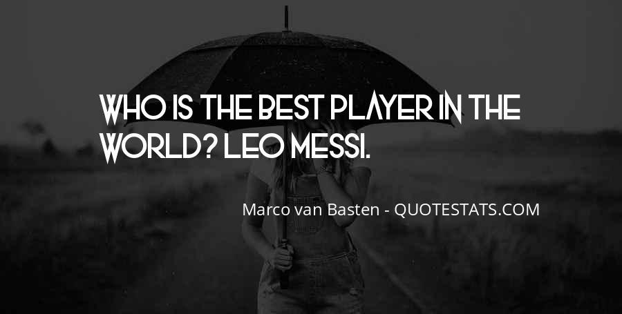 Marco Van Basten Quotes #1334047