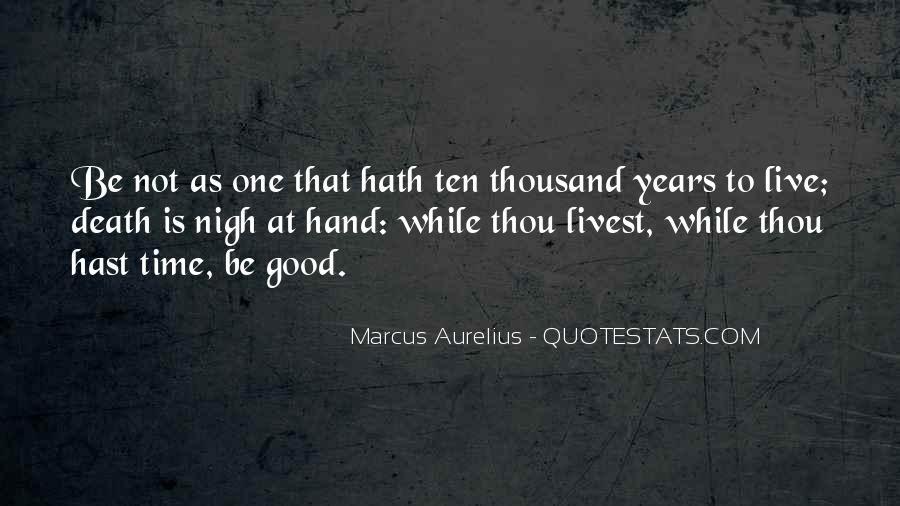 Marcus Aurelius Quotes #1231229