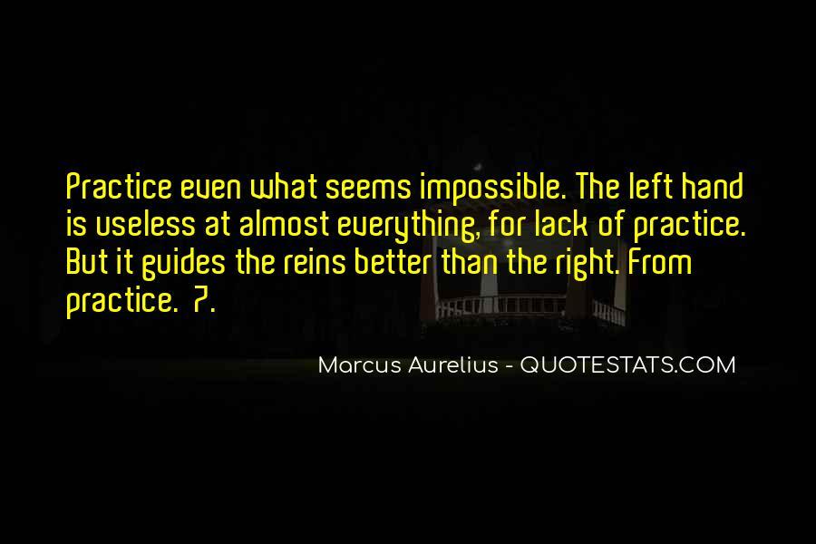 Marcus Aurelius Quotes #1247316