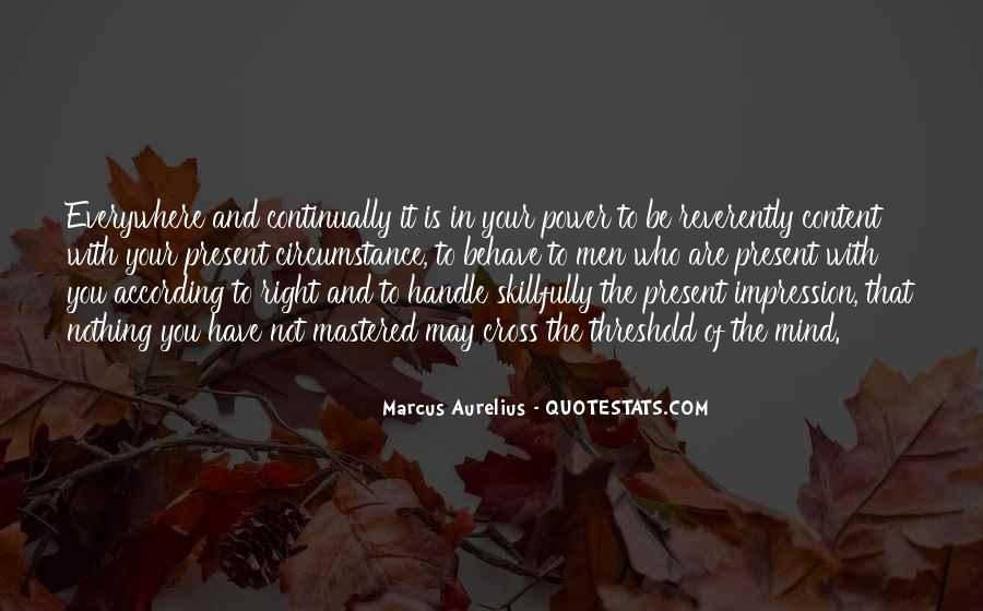 Marcus Aurelius Quotes #258709