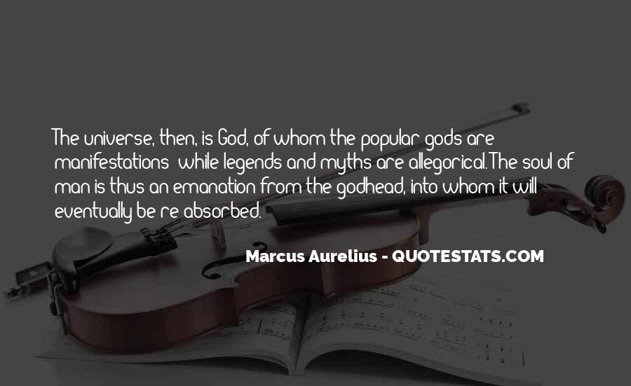 Marcus Aurelius Quotes #312945