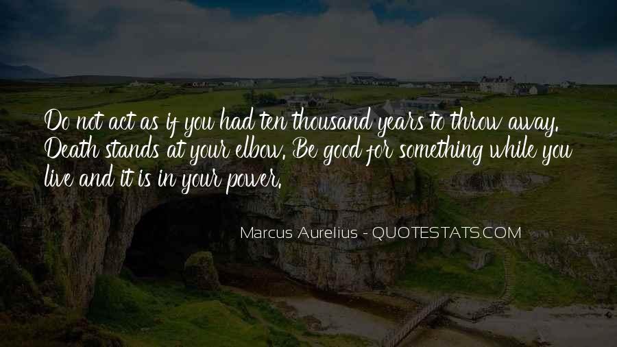 Marcus Aurelius Quotes #506767