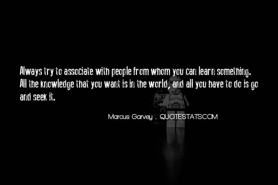 Marcus Garvey Quotes #51285