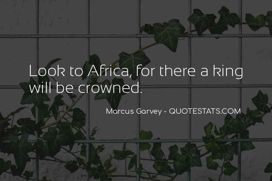 Marcus Garvey Quotes #658887