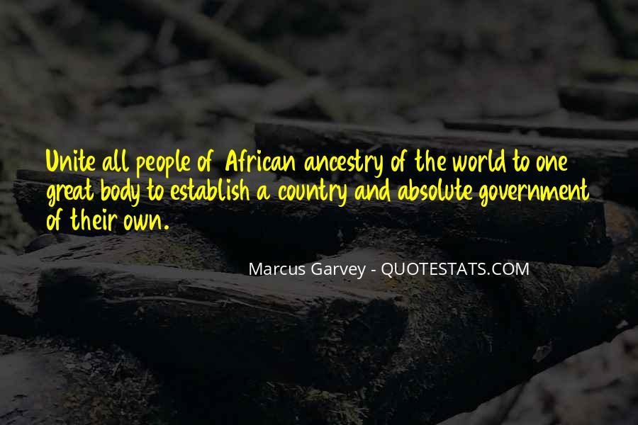 Marcus Garvey Quotes #822288