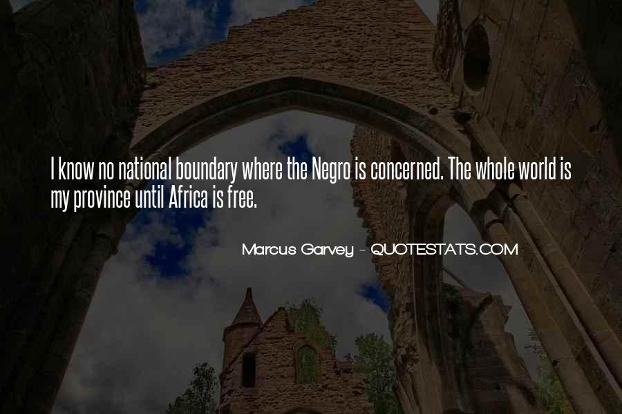 Marcus Garvey Quotes #893615