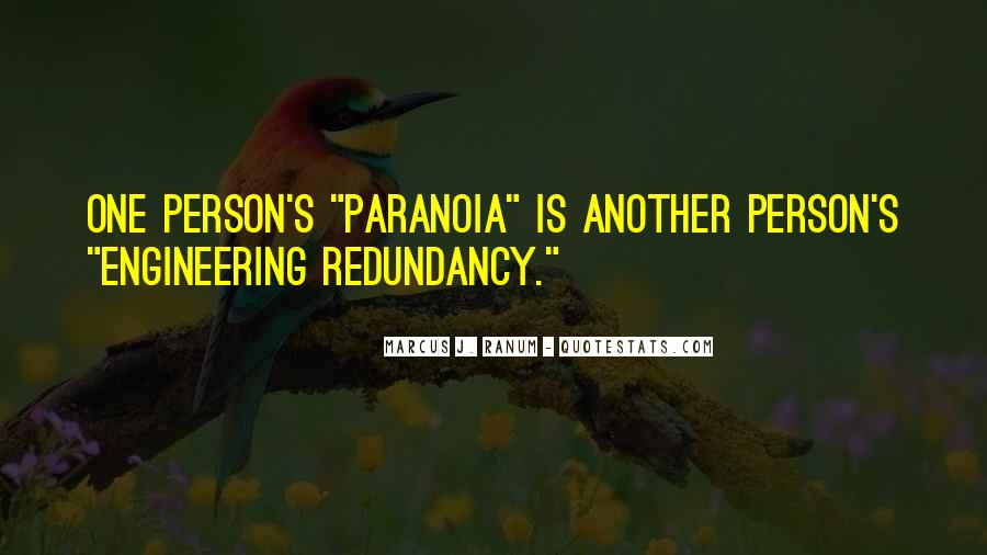Marcus J. Ranum Quotes #928225