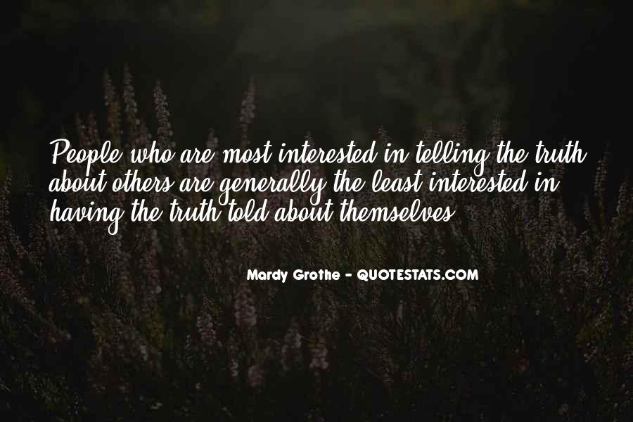 Mardy Grothe Quotes #1115045