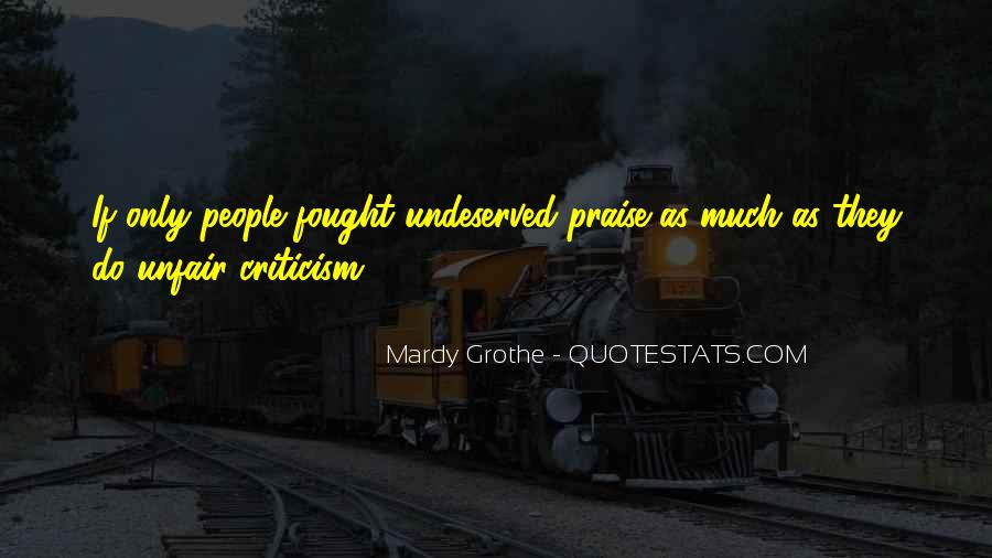 Mardy Grothe Quotes #1313962
