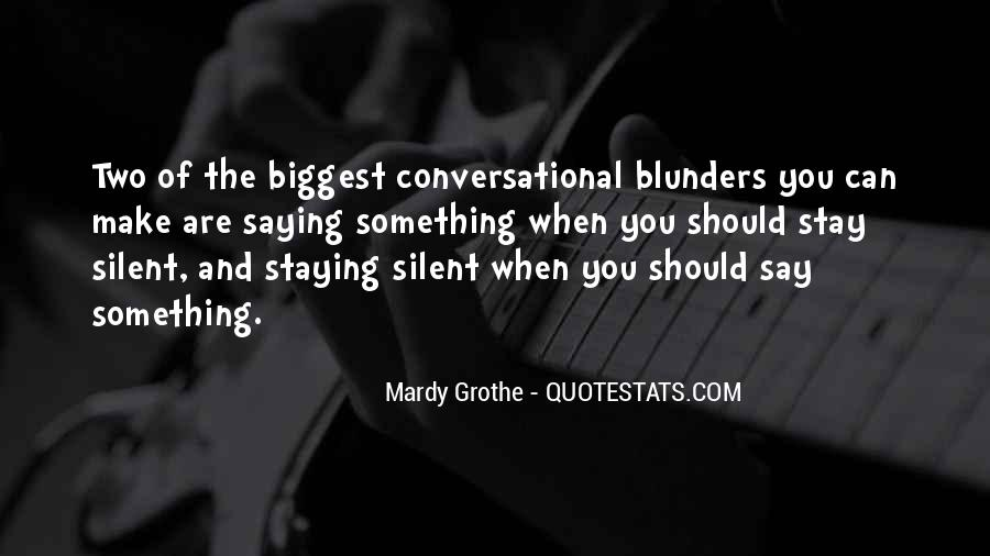 Mardy Grothe Quotes #275053