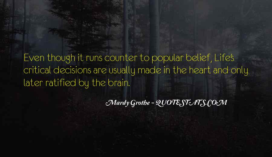 Mardy Grothe Quotes #835824