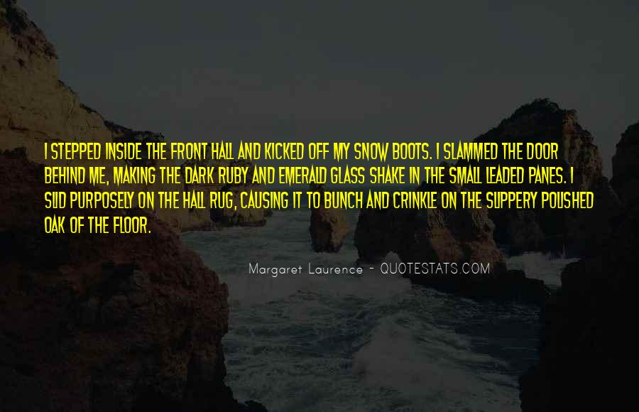 Margaret Laurence Quotes #1494095