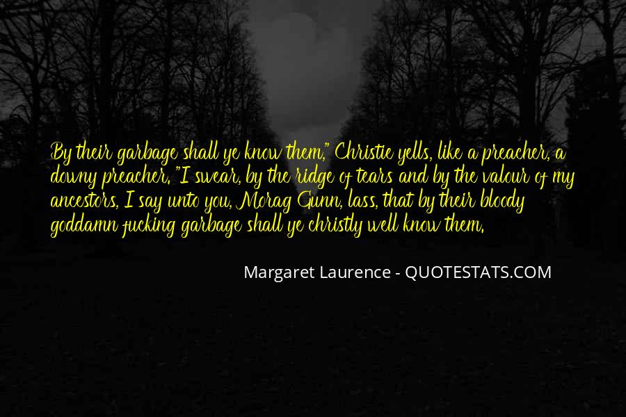 Margaret Laurence Quotes #175297