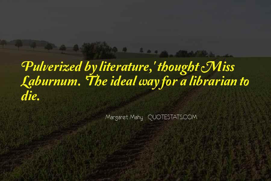 Margaret Mahy Quotes #126066