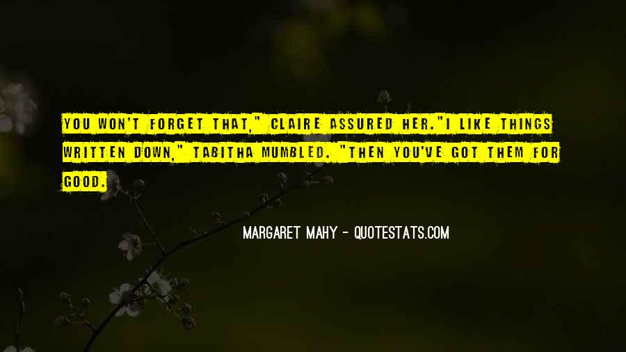 Margaret Mahy Quotes #1356736