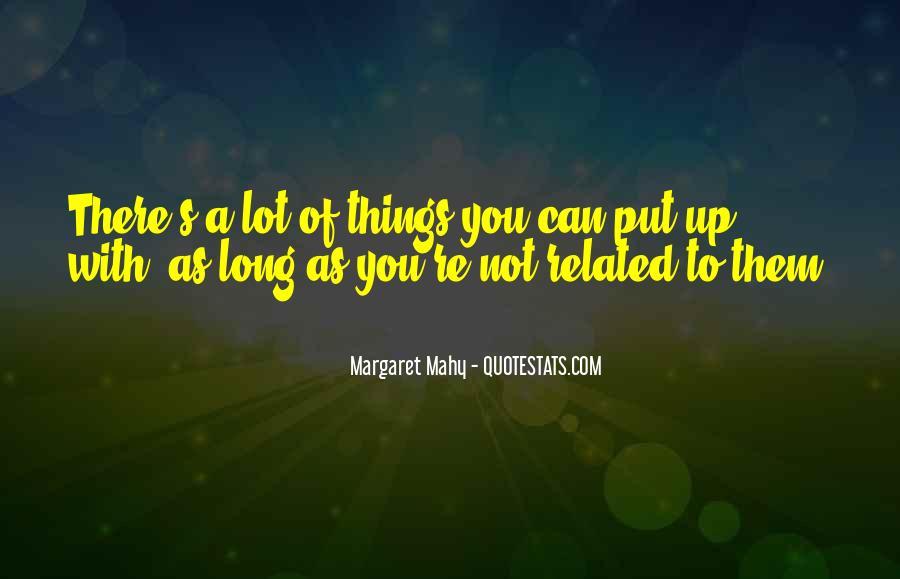 Margaret Mahy Quotes #1580798