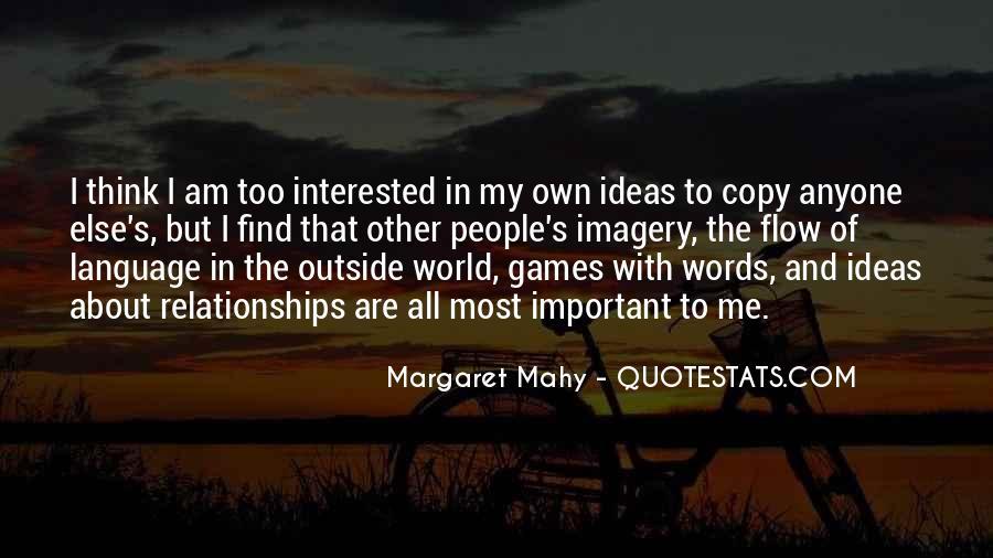 Margaret Mahy Quotes #194607